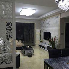精美面积104平现代三居客厅欣赏图