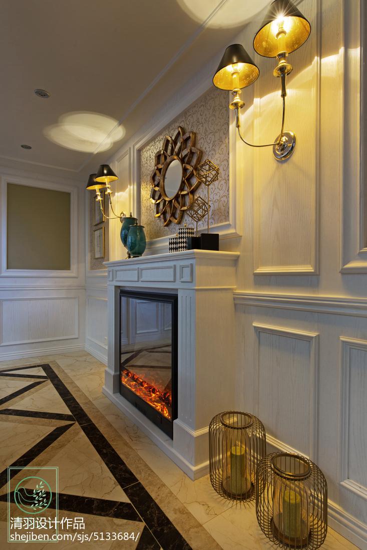 精选111平米新古典别墅客厅装饰图片