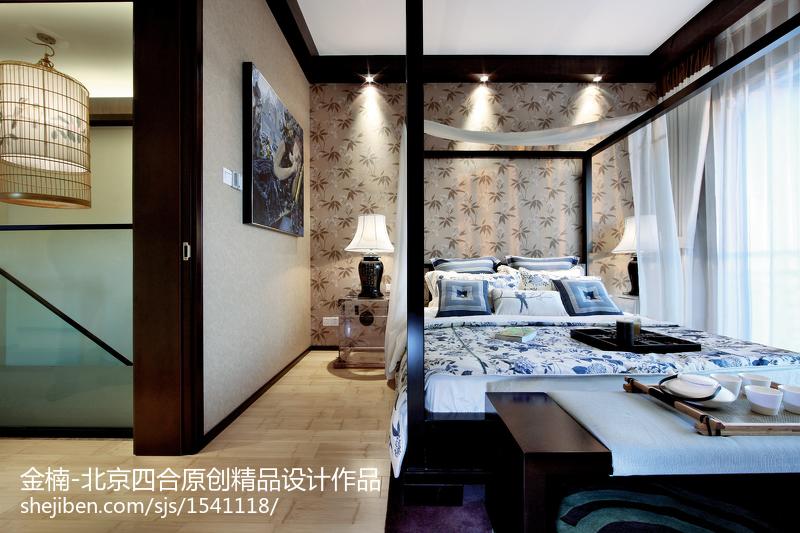 北京四合原创【金楠】中式卧室设计