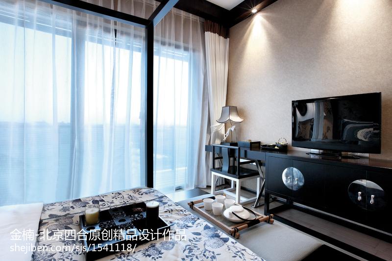 北京四合原创【金楠】中式客厅设计