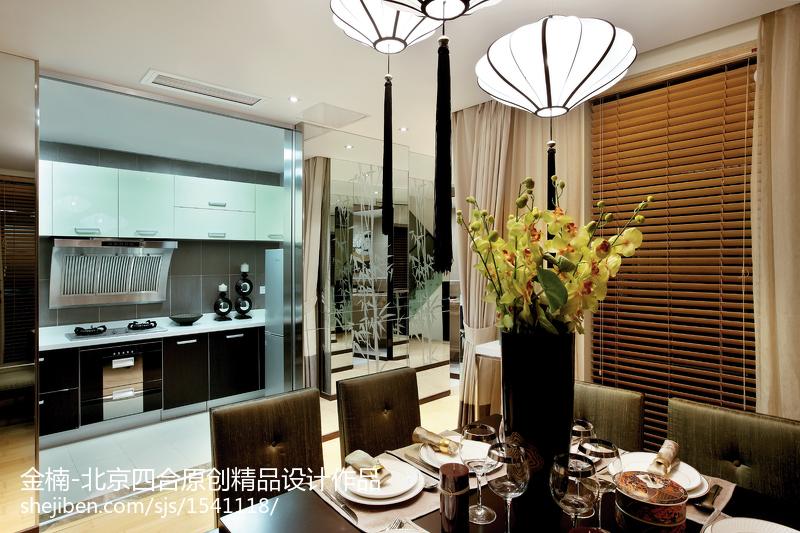 北京四合原创【金楠】中式厨房设计