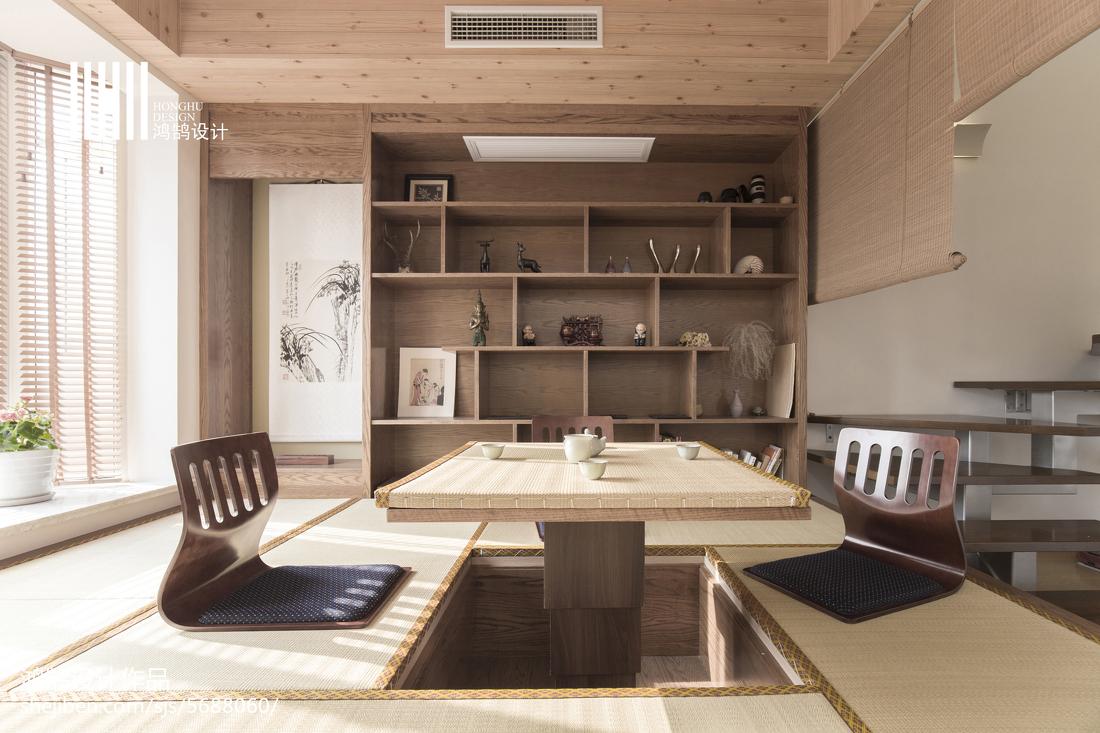 温馨58平日式复式休闲区设计效果图