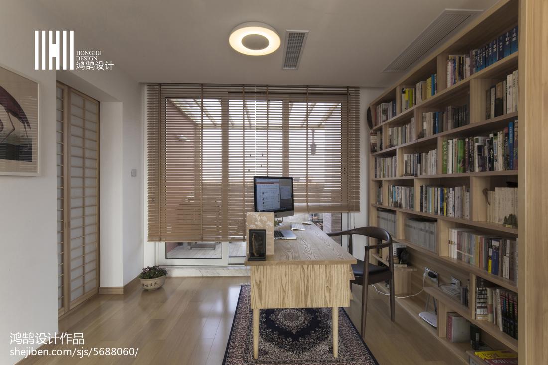 热门面积135平复式书房日式效果图片欣赏