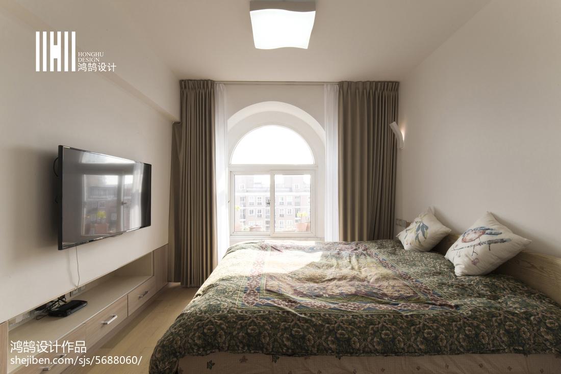 热门127平米日式复式卧室装修欣赏图片大全