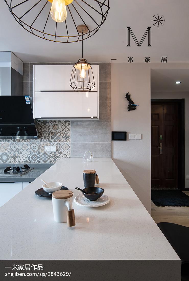 精选现代三居厨房装修图片大全