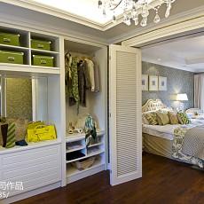 精选121平米美式别墅卧室效果图