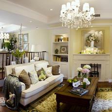 华丽250平美式别墅效果图片大全