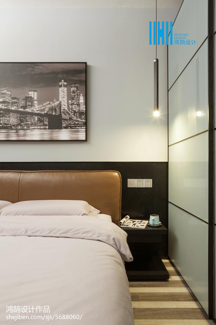 精选面积71平简约二居卧室装修设计效果图片欣赏