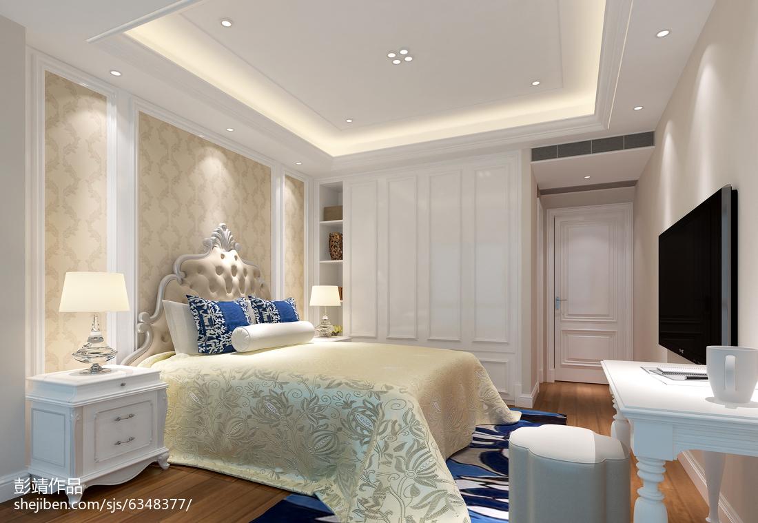 欧式古典主卧室装饰装潢