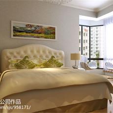 大小72平现代二居卧室装饰图