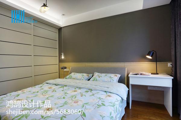 热门三居卧室简约装修欣赏图片