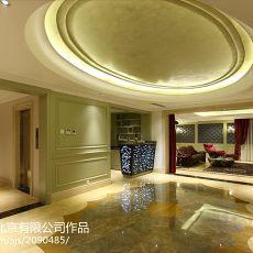 热门新古典别墅过道装修设计效果图片