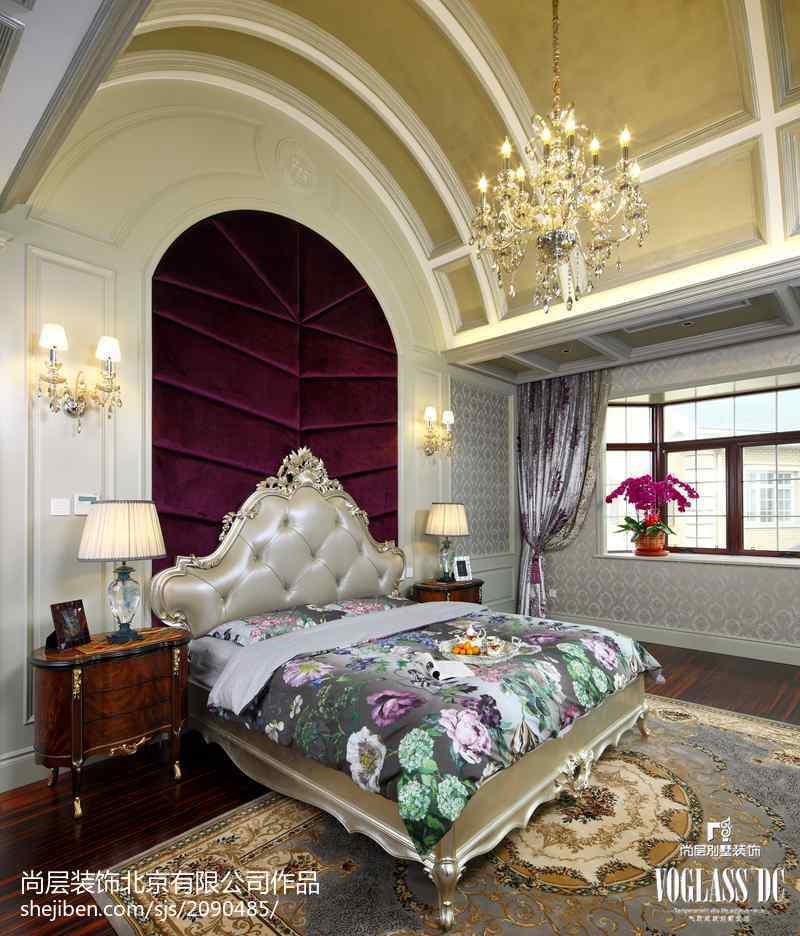 精选112平米新古典别墅卧室装修欣赏图