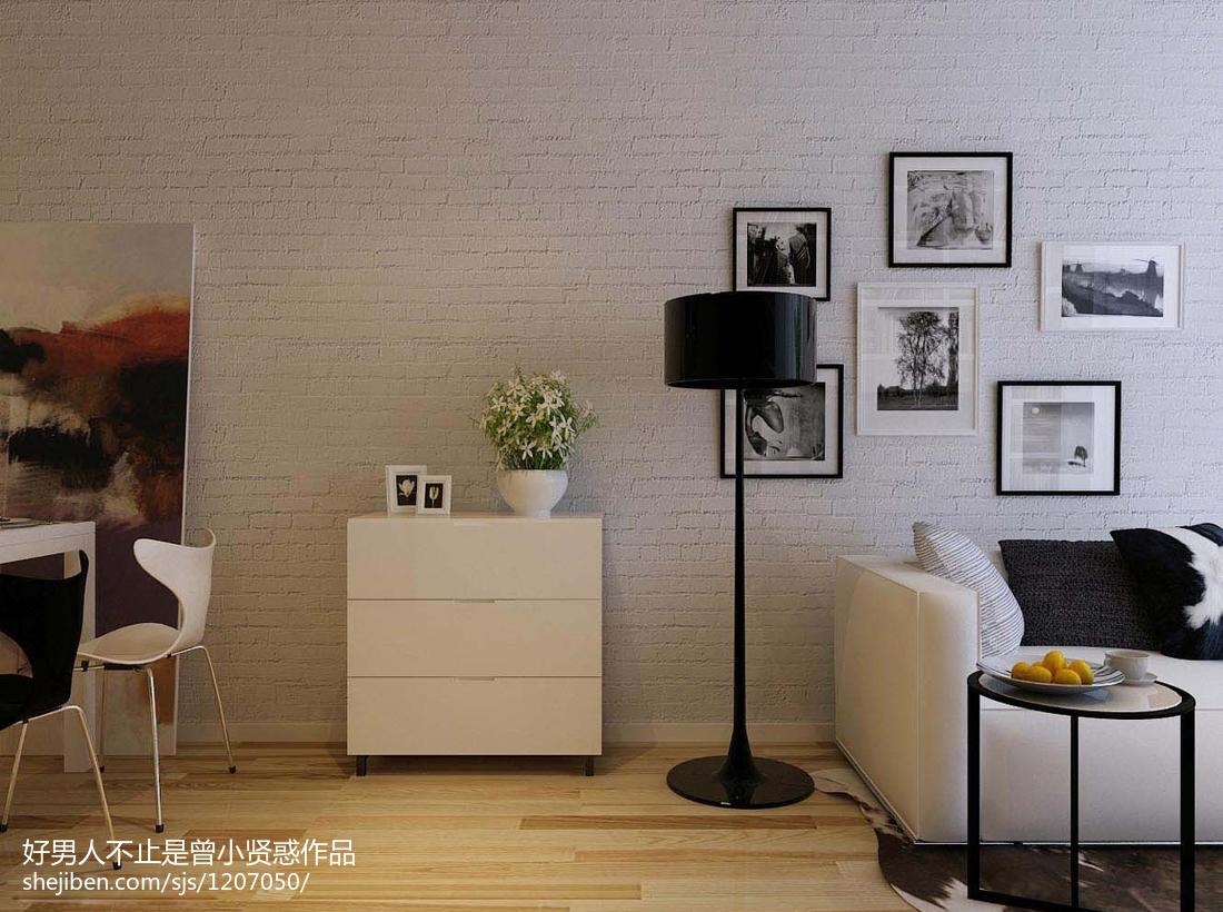小户型客厅简约装修效果图