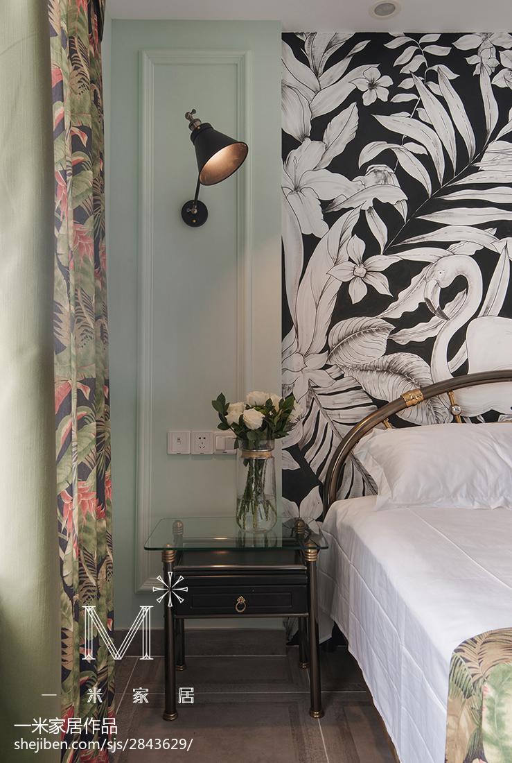精选74平米二居卧室混搭装修欣赏图