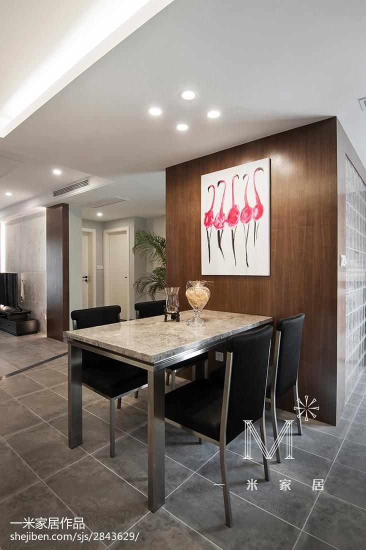 精选79平米二居餐厅混搭装修效果图片大全
