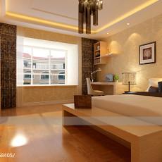 热门90平方三居卧室欧式装修实景图