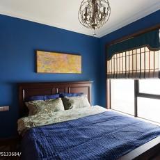 精美143平米美式别墅卧室实景图片