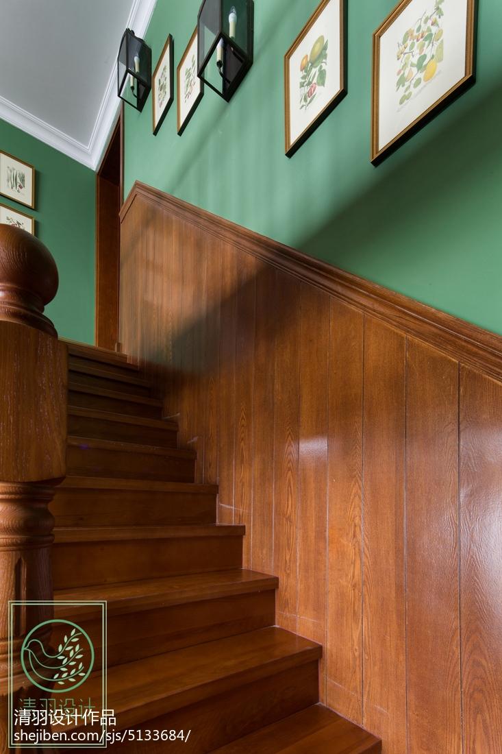 华丽997平美式别墅设计美图