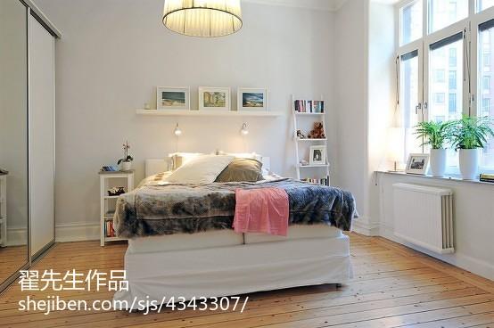 精选面积80平小户型卧室田园装修欣赏图片