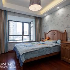 中式四居儿童房装饰图片大全