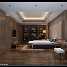 面积84平东南亚二居卧室装修图