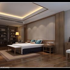 精美二居卧室东南亚装修设计效果图