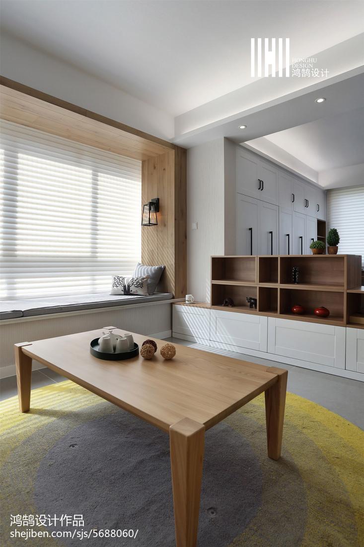 热门109平米三居客厅北欧装修设计效果图片大全