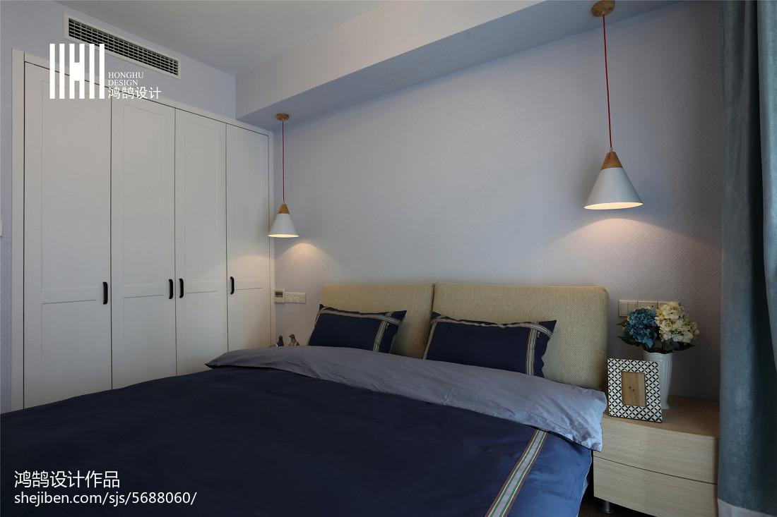 温馨124平北欧三居装修案例