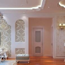 简约美式两室两厅装修效果图欣赏
