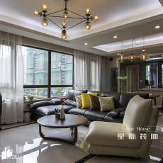 热门三居客厅现代设计效果图