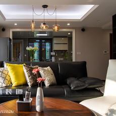 质朴76平现代三居客厅装饰美图