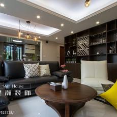 精美大小103平现代三居客厅装修欣赏图