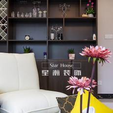 精选大小90平现代三居客厅效果图片