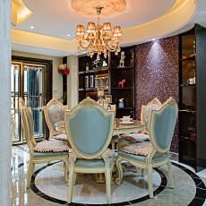 精美131平米四居餐厅混搭实景图片欣赏