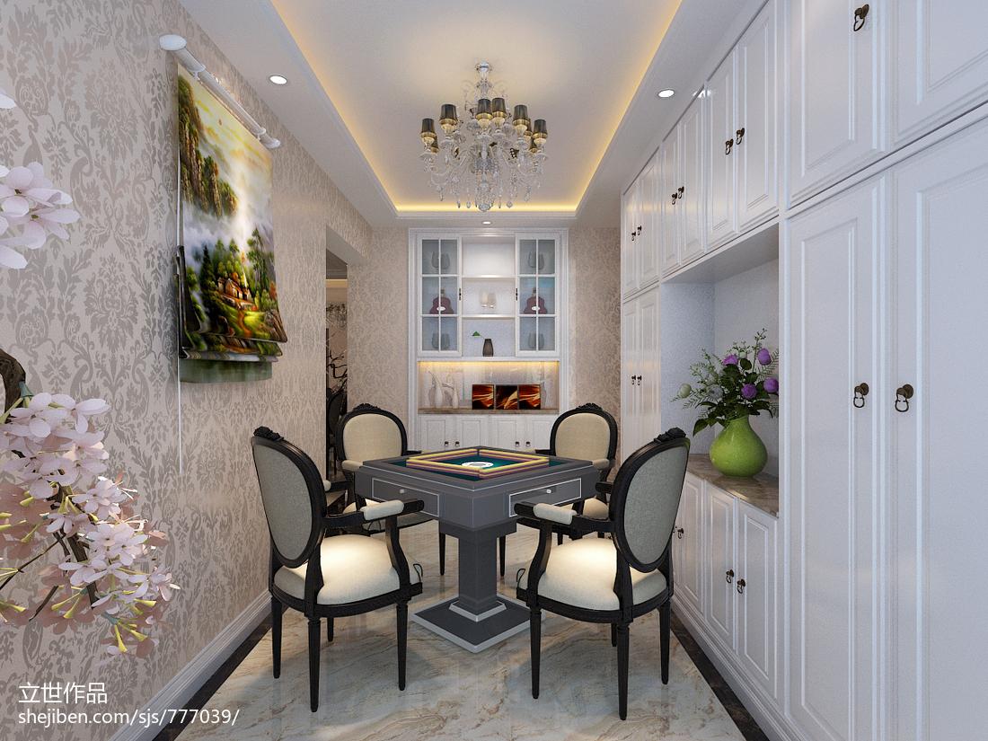 新中式雅致三居室设计效果图