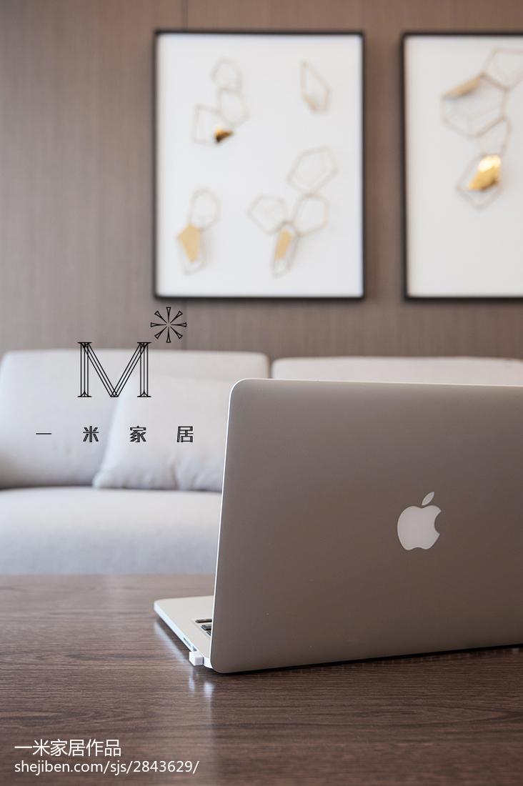 精美124平米四居客厅美式装修效果图片大全