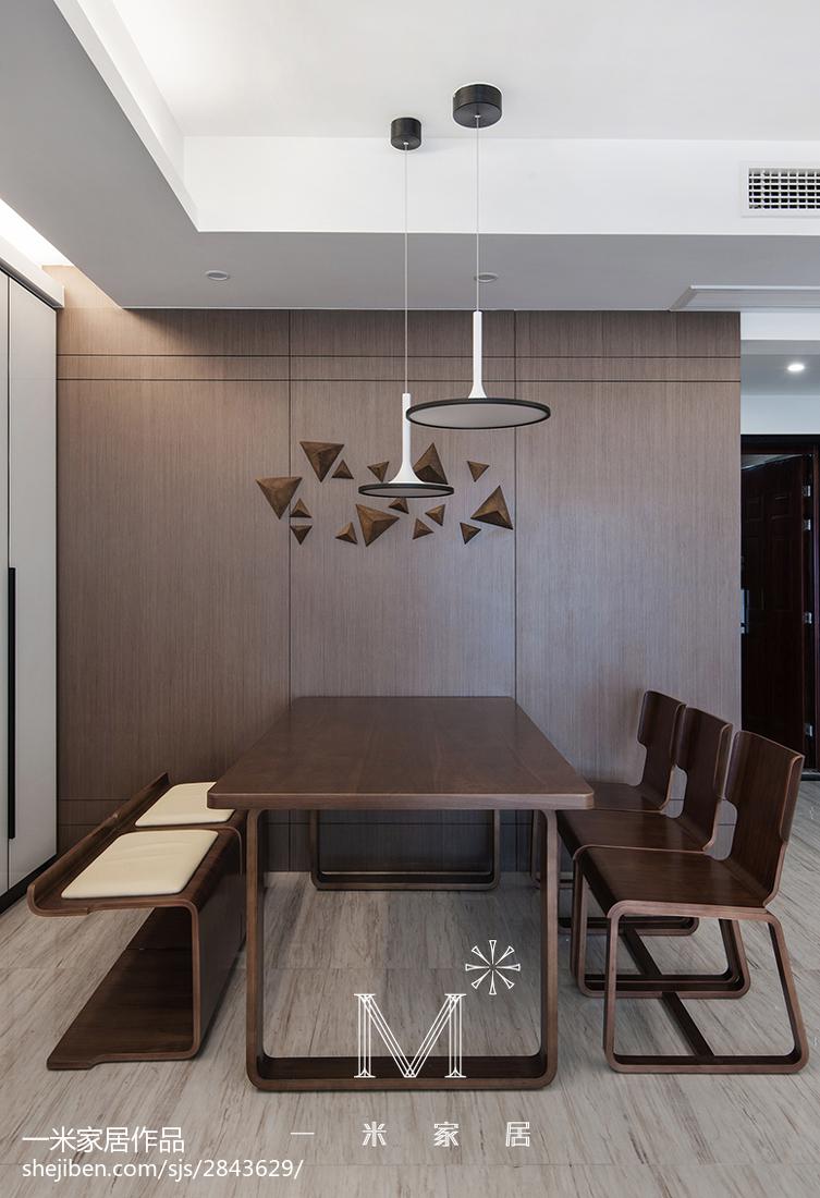 热门大小132平美式四居餐厅装修效果图片欣赏