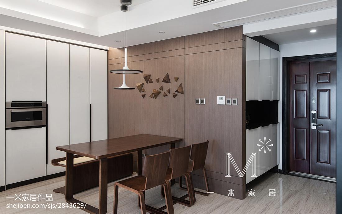 精美140平米四居餐厅美式装修欣赏图