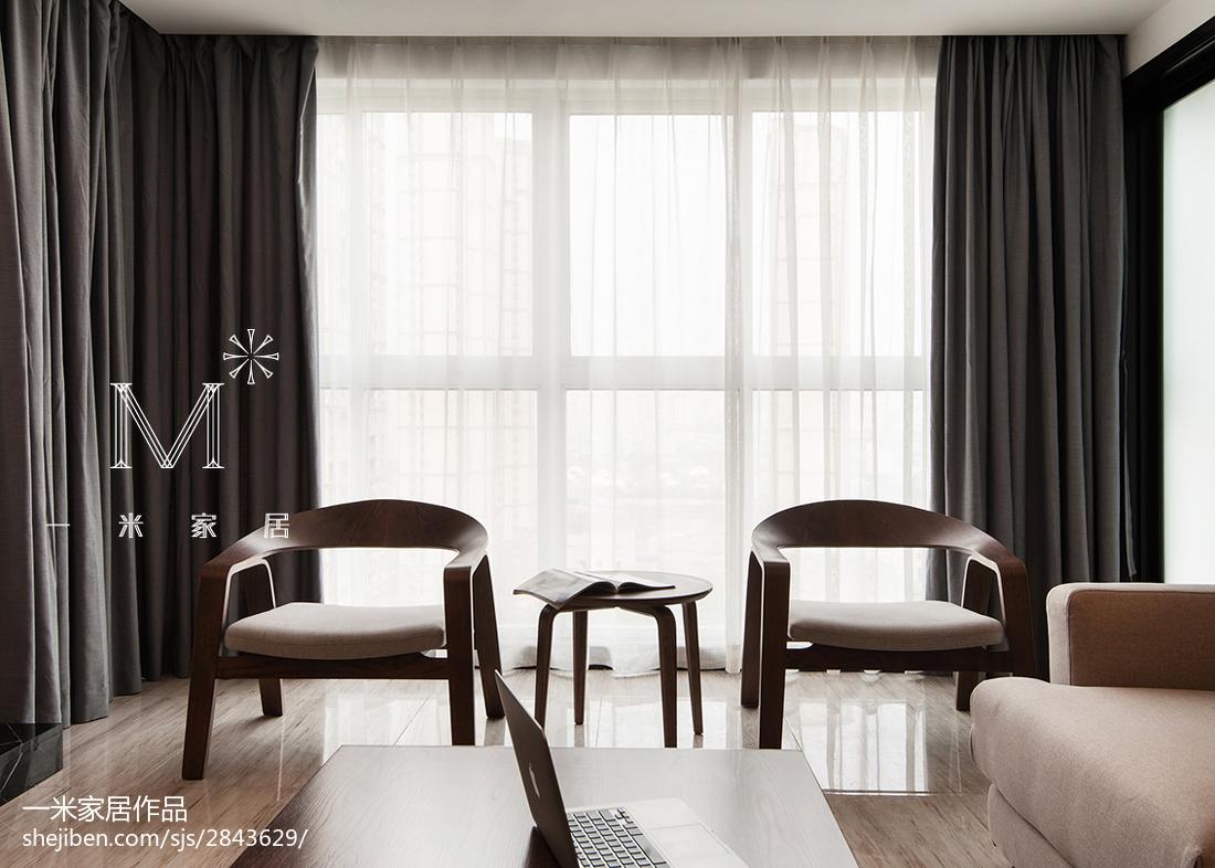 2018精选大小122平美式四居客厅装修实景图片