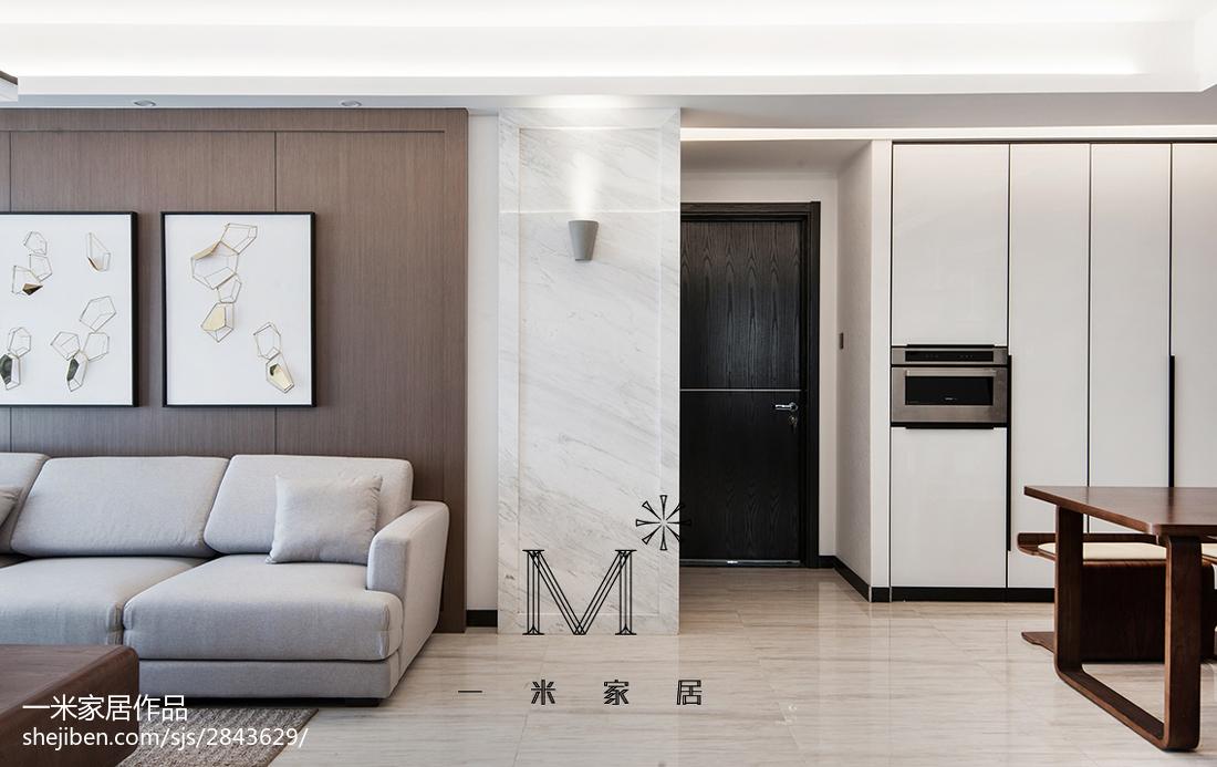 精美147平美式四居客厅装修图片