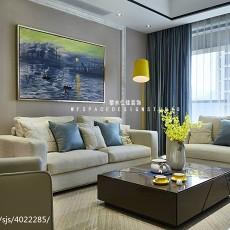 精美97平米三居客厅现代装修欣赏图片