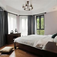 热门面积113平美式四居卧室装修图片大全