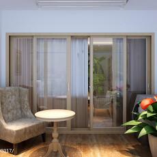现代二居休闲区装修设计效果图片