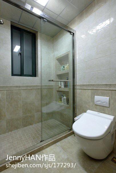 中式别墅卫生间设计效果图