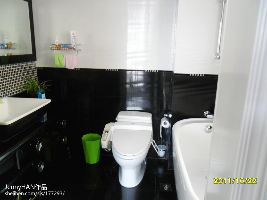 最新简约家居卫生间装饰效果图欣赏