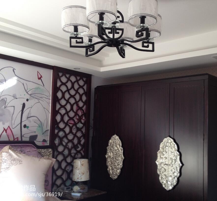 混搭简约木质照片墙设计图片