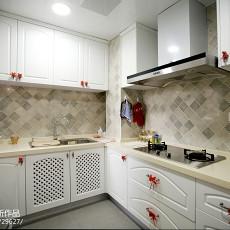 华丽52平美式二居厨房案例图