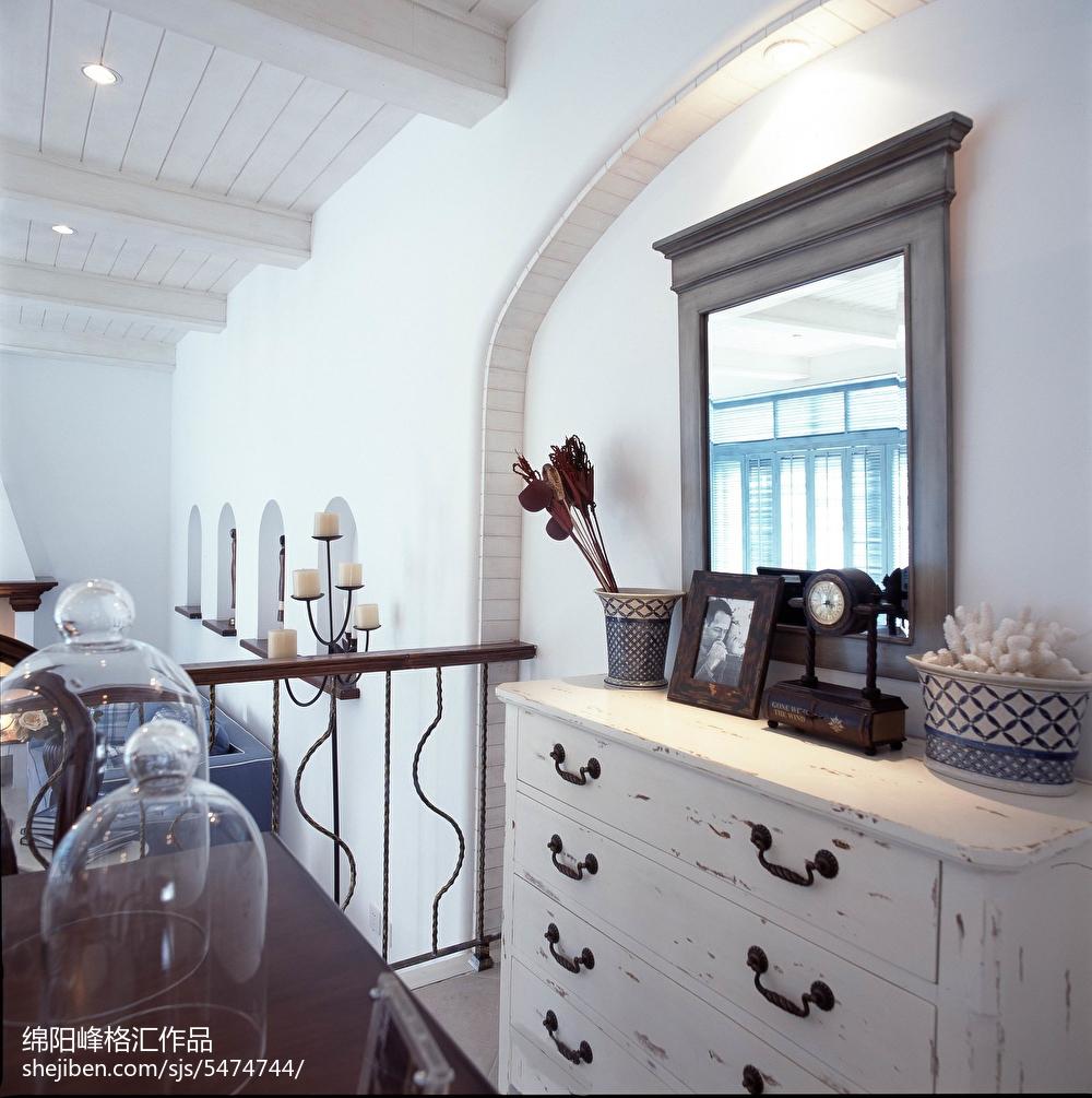 热门地中海复式客厅装修图片