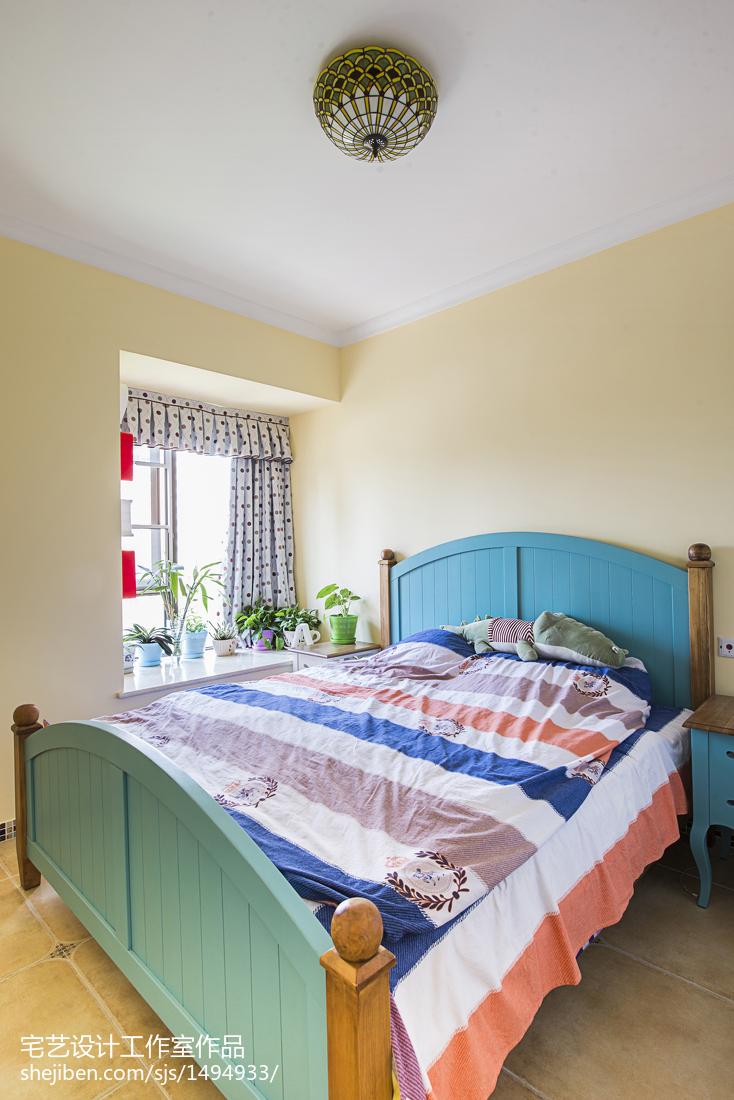 热门地中海二居卧室装饰图片